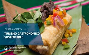 Charla sobre turismo gastronómico sustentable