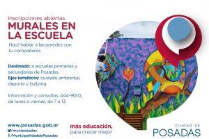 Impulsan un proyecto de muralismo urbano educativo en Posadas