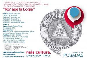 Invitan a los recorridos culturales por la Logia Roque Pérez