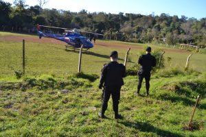 Ataque a la UPII: Por aire y tierra buscan a los cómplices del temible brasileño capturado