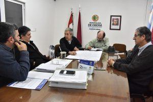 Oberá: El intendente recibió a autoridades provinciales para debatir la situación energética