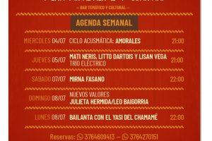 Se vienen seis días a puro Peña en Misionero y Guaraní