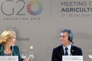 Ministros de Agricultura del G20 se pronunciaron por un comercio libre sin proteccionismo