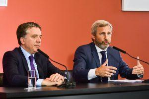 Presupuesto 2019: Dujovne y Frigerio negociarán con las provincias como bajar el gasto