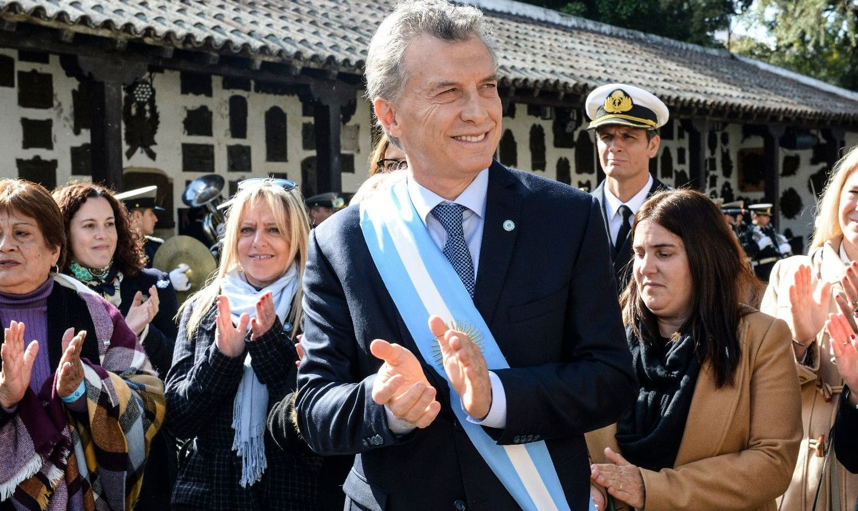 zzzznacp2 NOTICIAS ARGENTINAS SAN MIGUEL DE TUCUMAN, JULIO 9: El presidente Mauricio Macri encabezó hoy la ceremonia conmemorativa por el 202° aniversario de la Declaración de la Independencia, que se llevó a cabo en la Casa Histórica, en la ciudad de San Miguel de Tucumán. FOTO: PRESIDENCIAzzzz