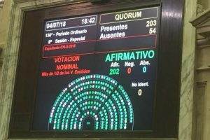 Por unanimidad en Diputados, se aprobó la Ley Justina, mirá de qué se trata