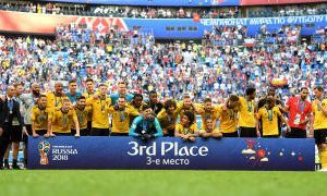 Mundial Rusia 2018: Bélgica se subió al podio