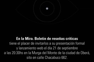 """Presentarán """"En la Mira"""" el próximo viernes en la Murga del Monte"""