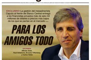 Las tapas del domingo: El ajuste decidido en Olivos y otra notable portada de Página 12