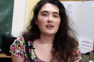 Estudiante inglesa tomó experiencia en Misiones para su formación docente