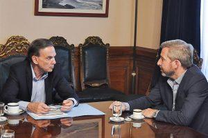 """Frigerio dice que el Gobierno está """"cerca de cerrar el presupuesto"""""""