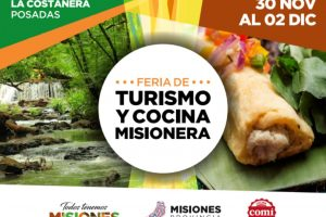 """El Programa """"COMÍ"""" se presentará en la Feria de Turismo y Cocina Misionera"""