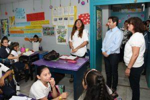 La EBY inauguró obras en la escuela 827del barrio La Nueva Esperanza