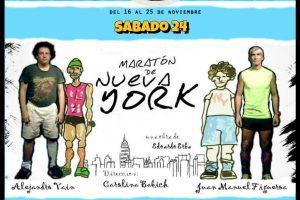 """""""Maratón de Nueva York"""" en el galpón de la Murga"""