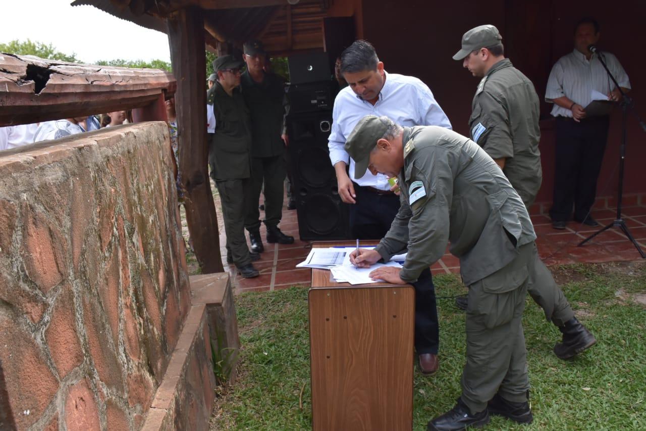 Corrientes:Inauguran las instalaciones de la Base Patrulla Iberá