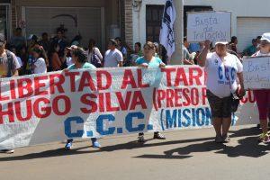 """Coordinadora Provincial en Lucha: """"Celebramos que la Cámara de Apelaciones haga lugar al pedido de libertad de Hugo Silva"""""""