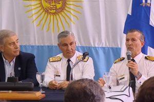 El ARA San Juan fue encontrado a 907 metros de profundidad; Aguad adelantó que el Gobierno decretará duelo nacional