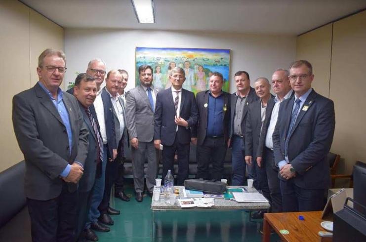 Alcaldes brasileños consiguen R$ 20 millones para el futuro puente San Javier – Porto Xavier