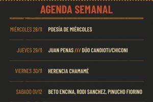 Una semana con Penas, Poesía y chamamé en Misionero y Guaraní