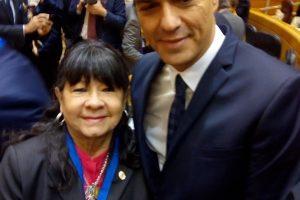 La parlamentaria misionera Julia Perié compartió una Cumbre con el presidente de España