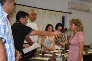 En San Pedro asumió Elisa Cantini como edil del PAyS:  Voy a seguir con el compromiso de Alfonso Frayd