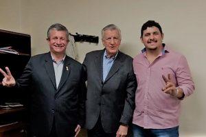 El Presidente del PJ, José Luis Gioja recibió a Rafael Pereyra Pigerl
