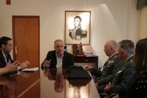 Guardia Española vino a certificar avances de la universidad policial de Misiones