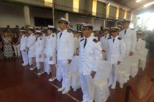 Egresó del Liceo Storni una nueva Promoción de Guardiamarinas