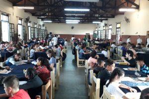Más de un centenar de jóvenes realizó el examen de ingreso al Liceo Storni