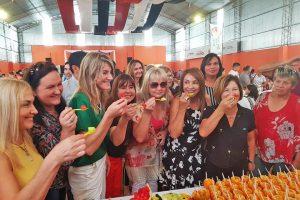 Almafuerte la rompió con la Fiesta de las Frutas Tropicales