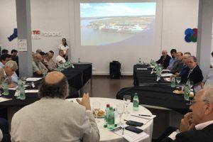 Empresarios brasileños y misioneros analizaron la viabilidad de cargar en el futuro Puerto de Posadas