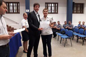 Ludopatía entregó diplomas a efectivos de la Policía de Misiones
