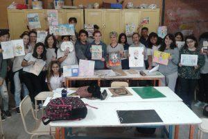 Alumnos del BOP N° 9 de Posadas participaron junto a un escritor misionero de un proyecto del CFI