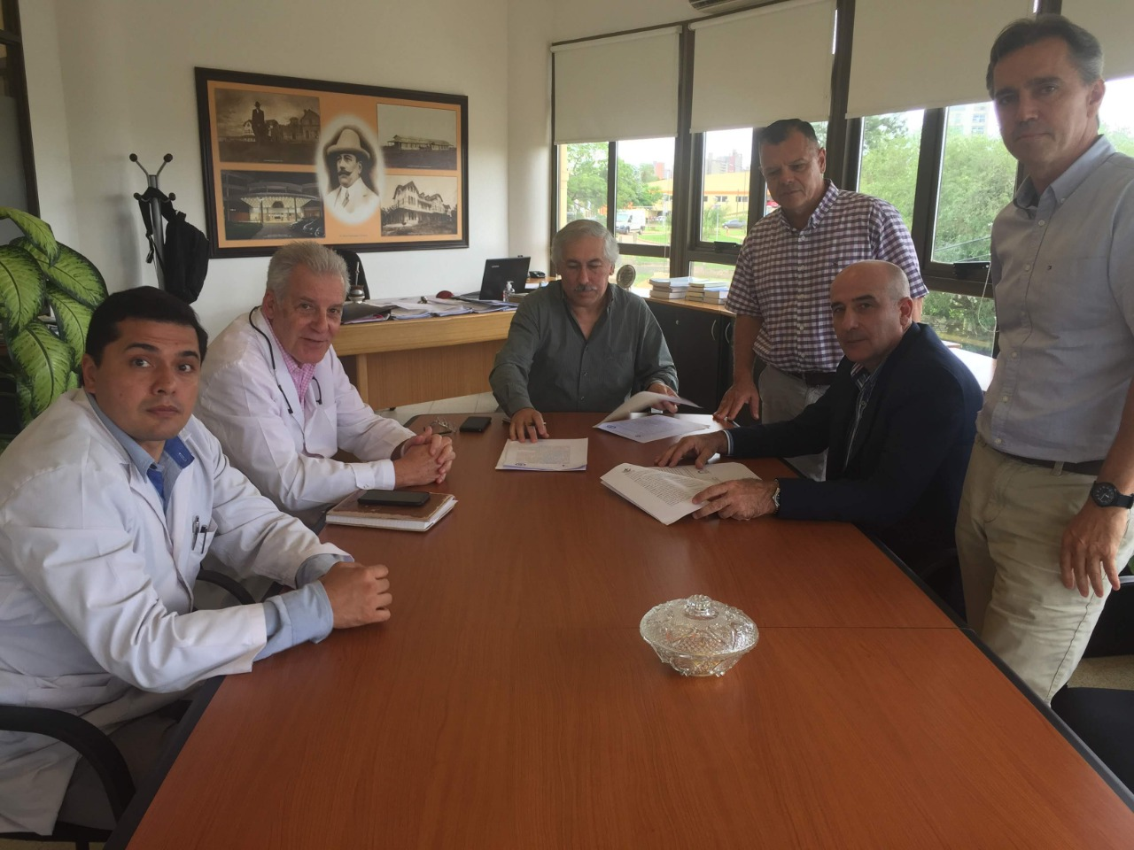 Fundación Barceló firmó convenio con el Parque de Salud de Misiones