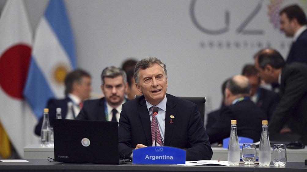 """G20: """"Logramos importantes acuerdos después de varios días y meses de trabajo"""", dijo Macri"""