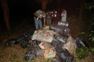 Hallan dos toneladas de marihuana ocultas en la selva