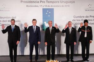 Macri asumió la presidencia pro témpore del Mercosur