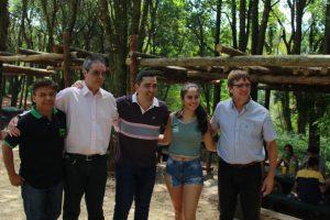 El Ministro Arrúa recorrió las instalaciones refaccionadas del camping Salto Capioví