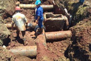 Avanzan las obras de agua potable para la zona sur de Posadas y Garupá