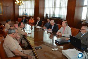 Autoridades nacionales y provinciales trabajan por la puesta marcha del Puerto Posadas