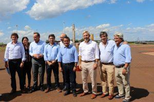 Herrera Ahuad destacó que las obras en el Centro de Frontera darán mayor seguridad y comodidad a los misioneros