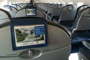 Air Europa promociona las Cataratas en sus aviones