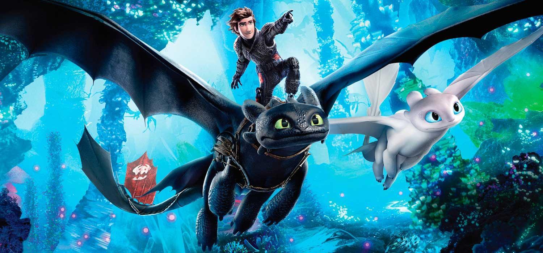 Como entrenar a tu dragón 3 en el IMAX del Conocimiento