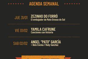 Jueves de Forró brasileño en Misionero y Guaraní