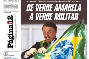 Las tapas del miércoles 02: Bolsonaro asumió en brasil y la economía Argentina