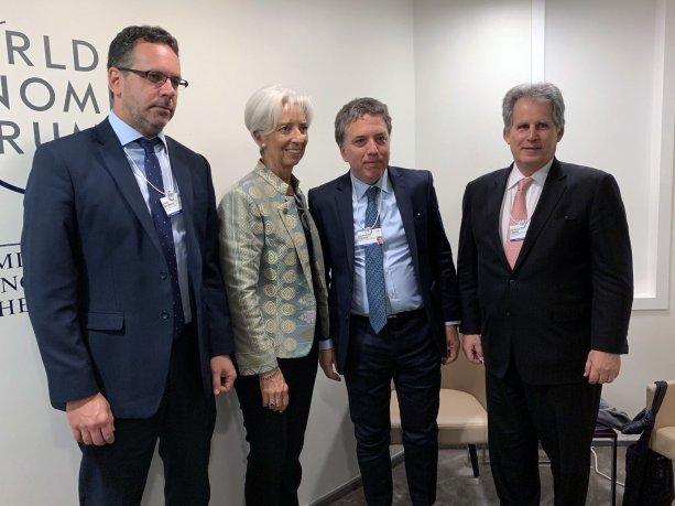 """Reunión con Dujovne: Lagarde festejó """"la sólida implementación del plan de estabilización"""""""