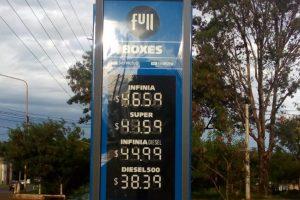 YPF baja el precio de los combustibles y en Misiones la nafta quedó en 41,59 pesos