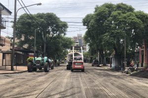 Vialidad continúa desarrollando obras de mejoramiento de avenidas y calles de Posadas
