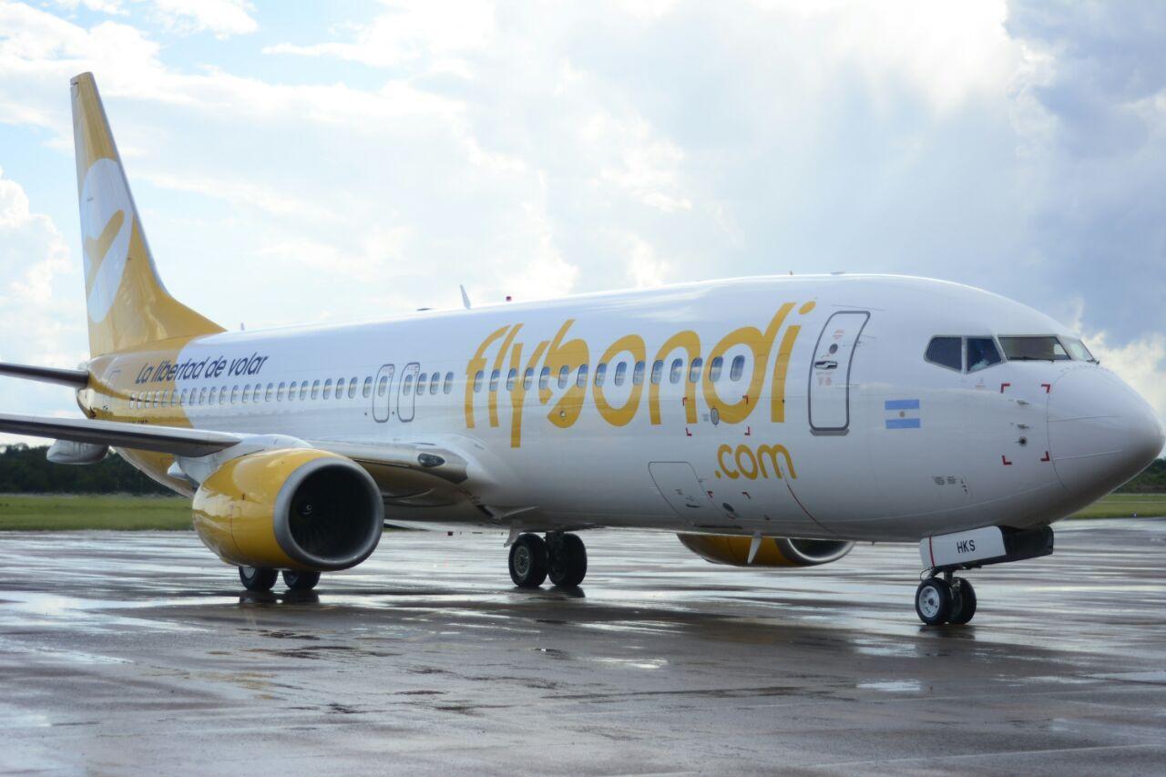 Flybondi ofrece pasajes a $999 para volar de Septiembre a Junio