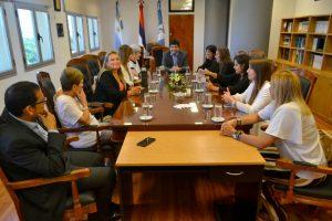 """Miembros del STJ se reunieron con miembros del Colectivo """"Juntas contra la violencia"""""""